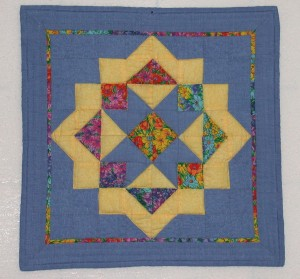 Fragrant Starlight, a challenge quilt for Seaside Piecemakers