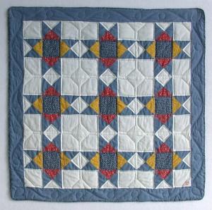 First Quilt:  1983
