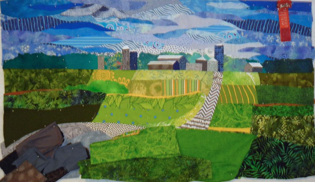 Ellen Lindner: Art & Creativity » Blog Archive » Farm Quilt ... : the quilt farm - Adamdwight.com