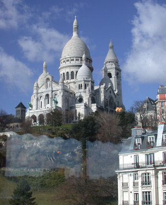 Sacre-Coeur, Paris.  AdventureQuilter.com/blog